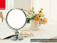 Gương trang điểm inox