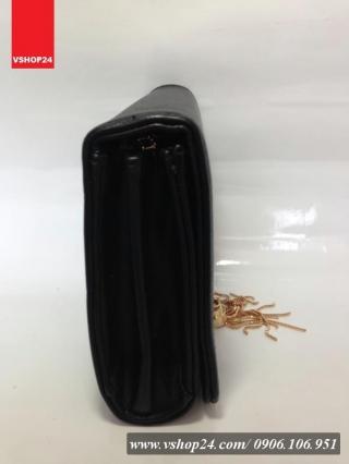 *Túi xách nữ mini hàng hiệu YSL đen 023