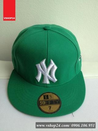 Mũ Hip Hop NY màu xanh lá 014