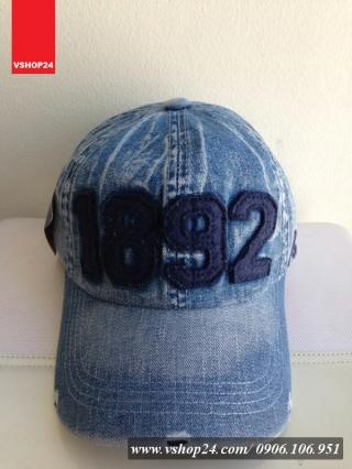 *Mũ bò jeans cao cấp 1892