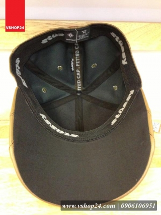 Mũ da hàng hiệu PUMA màu be 035