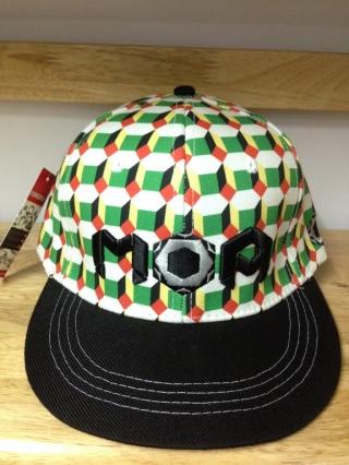*Mũ snapback họa tiết in Nhật bản MOA xanh lá 217