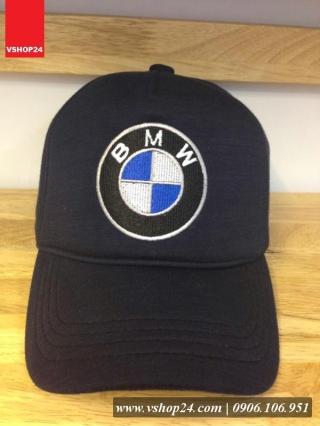 *Mũ lưỡi trai cao cấp BMW cotton xanh navy 237
