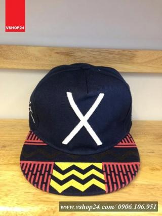 *Mũ snapback KPOP xanh navy X 025