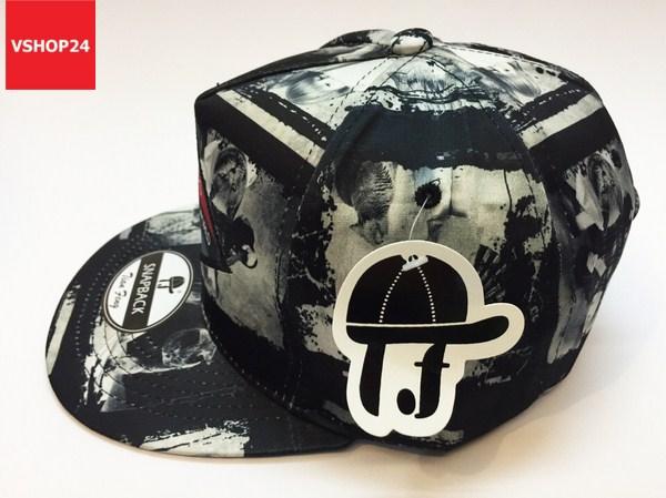 *Mũ snapback TIAN FENG màu tối 124