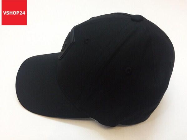 Mũ VNXK bít đuôi FERRARI đen 110