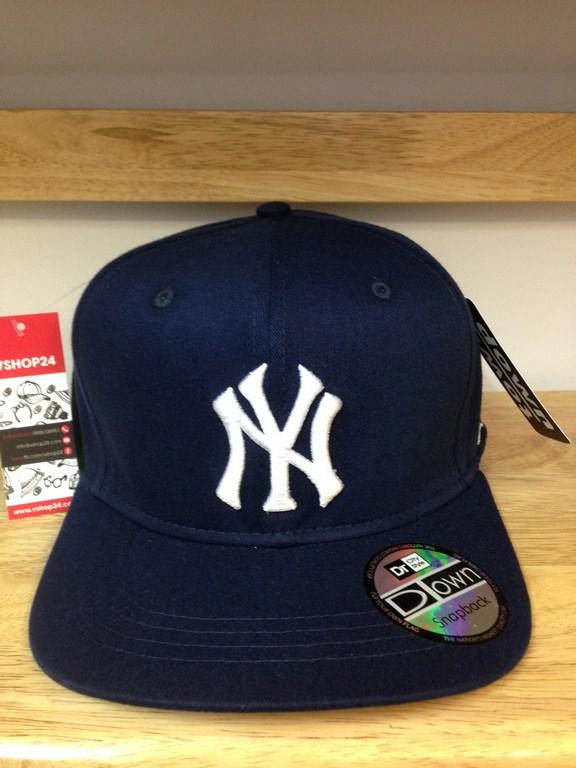 *Mũ snapback New Era NY xanh navy 366