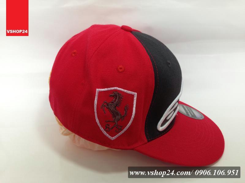 *Mũ snapback Ferrari QUICKSILVER 061