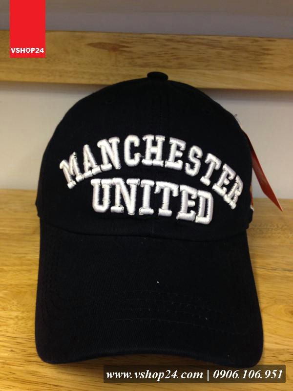*Mũ lưỡi trai CLB Man Utd đen 083