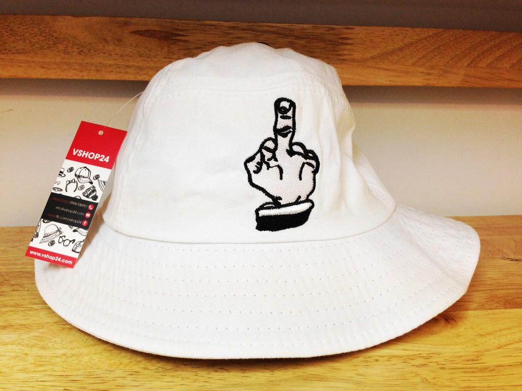 Mũ bucket Cayler & Sons trắng 01