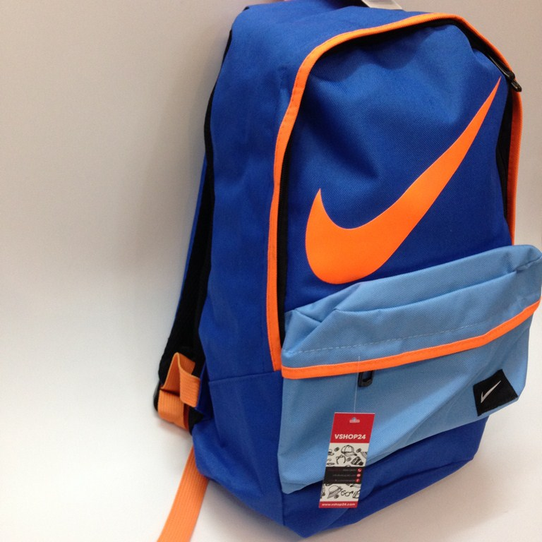 *Balo cao cấp Nike màu xanh dương 078