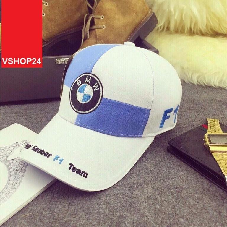 *Mũ lưỡi trai VNXK BMW trắng 112