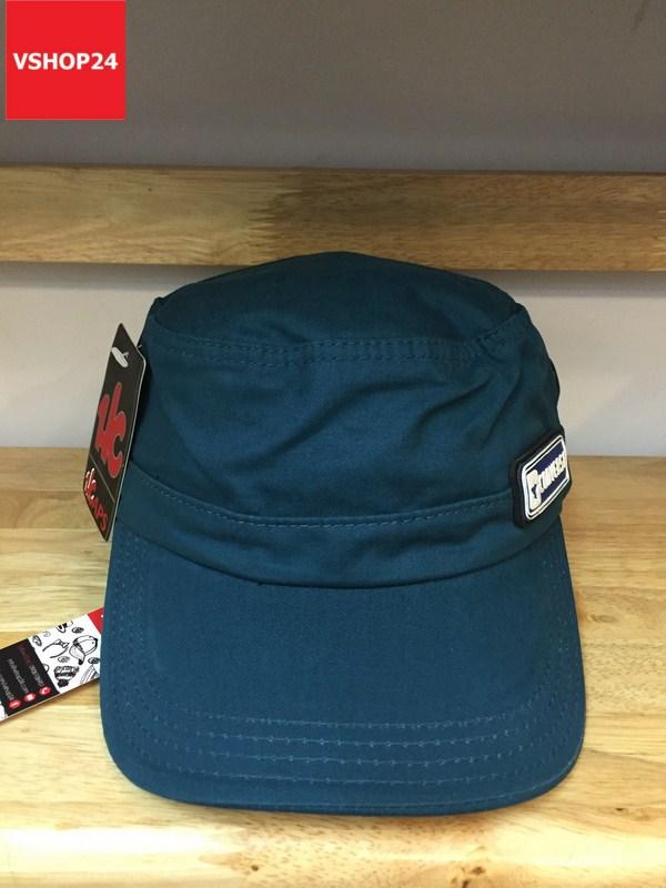 *Mũ đầu vuông khaki CONVERSE màu xanh dương 320