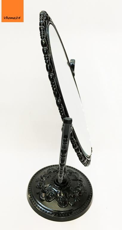 *Guong trang điểm nhua oval Anna Sui đen 105