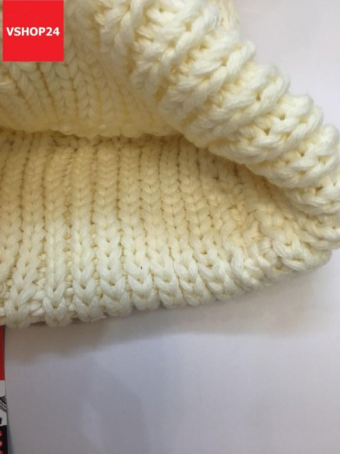 *Mũ len Hàn Quốc quả bông bự 163