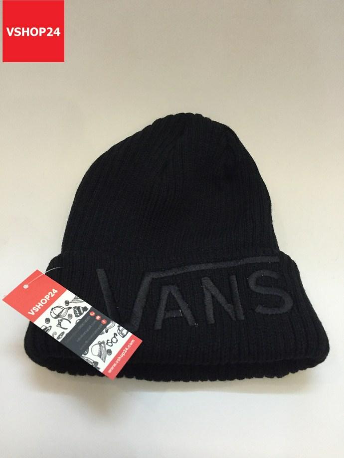 *Mũ len beanie VNXK VANS đen trơn 166