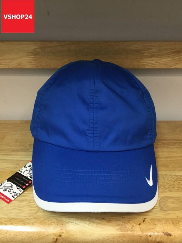 *Mũ thể thao chính hãng Nike xanh dương 165