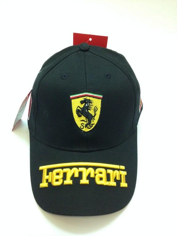 Mũ lưỡi trai nam hàng hiệu Ferrari đen 090