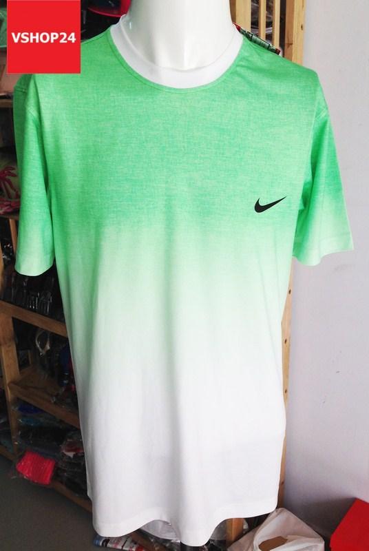 Áo phông nam NIKE DRI-FIT xanh lá 17