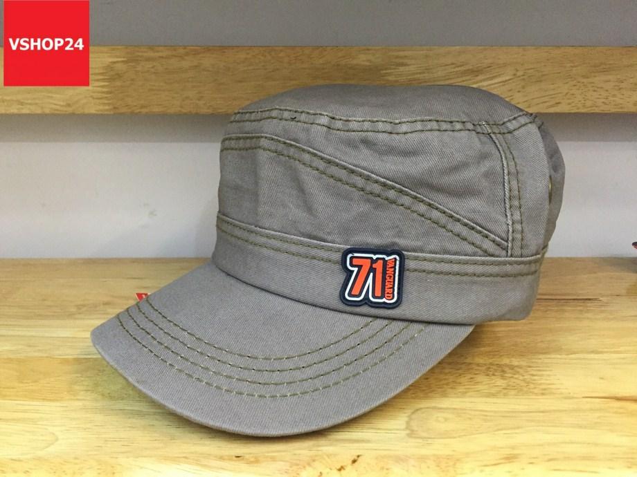 *Mũ khaki đầu vuông VNXK 71 Vanguard 336