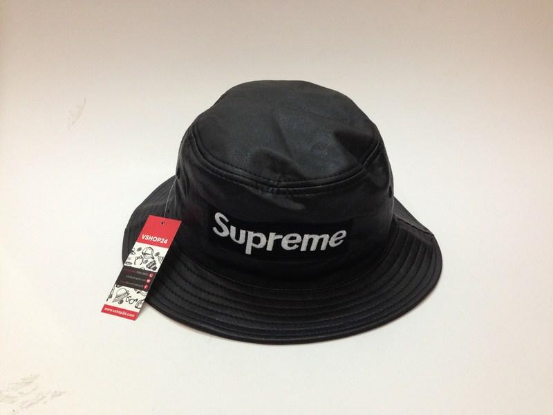 Mũ bucket da SUPREME mác trắng 025