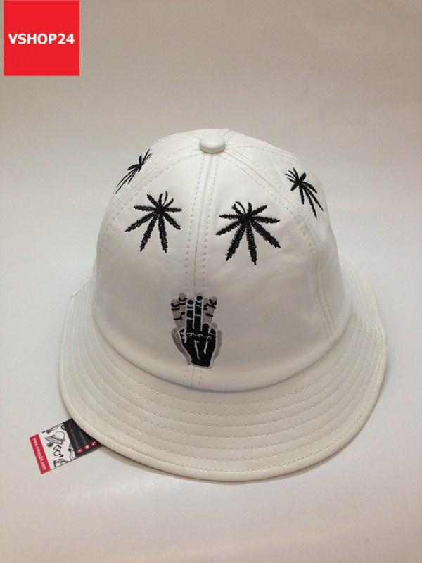Mũ bucket da Cayler & Sons trắng 028