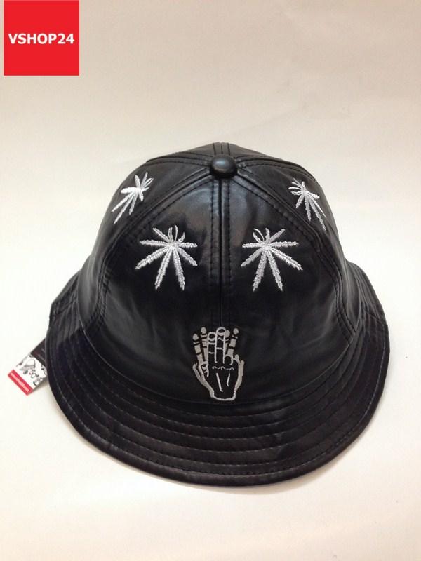 Mũ bucket da thời trang Cayler & Sons đen 029