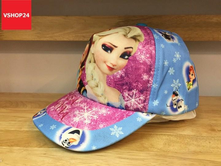 *Mũ dành cho bé gái ELSA & ANNA xanh 164