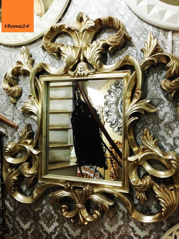 Gương soi treo tường phong cách Hoàng Gia 023