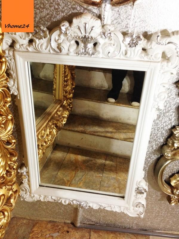 Gương soi trang trí phong cách royal hình chữ nhật 033