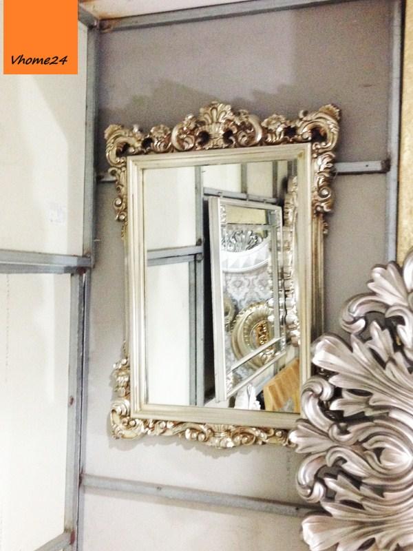 Gương trang trí decor sang trọng mạ vàng 037