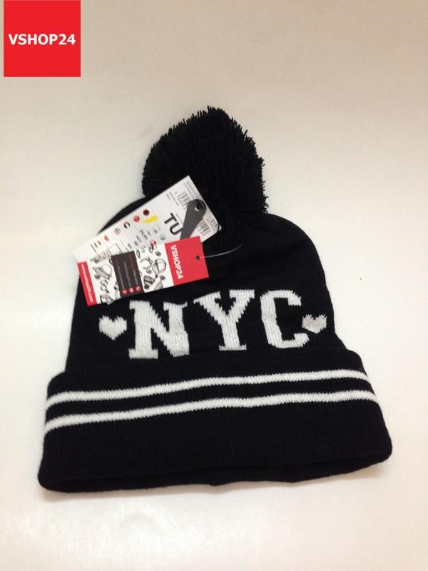 *Mũ len beanie VNXK NY màu đen 120