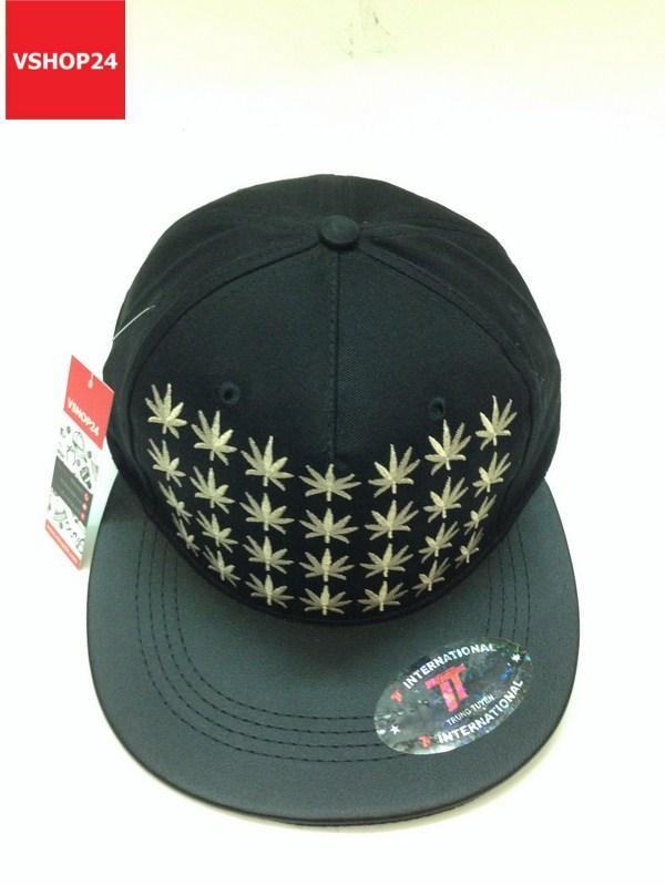 *Mũ snapback Kpop đen MILLION STAR 105