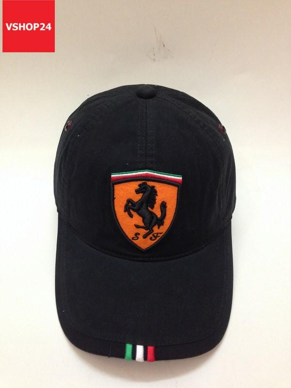 *Mũ luỡi trai nam Ferrari đen 105