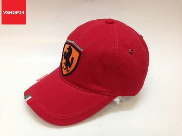 Nón kết nam Ferrari 3 sọc đỏ 106