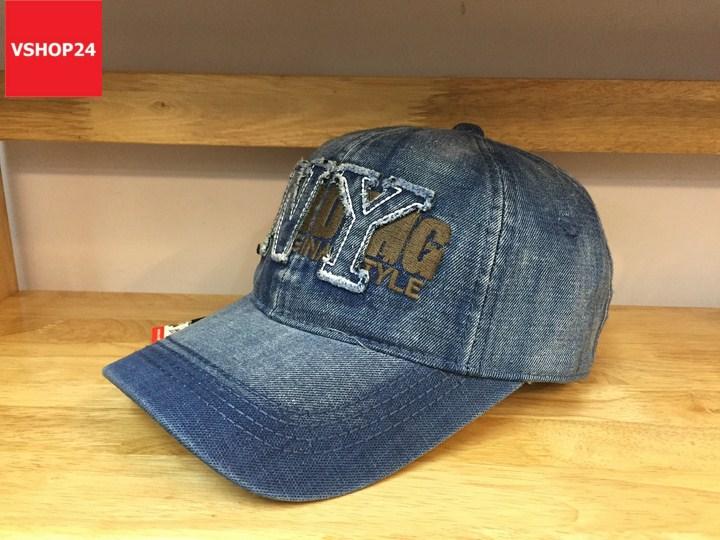*Mũ jeans VNXK cao cấp NY 122