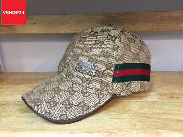 *Mũ Gucci mắc sắt nhỏ màu be 107