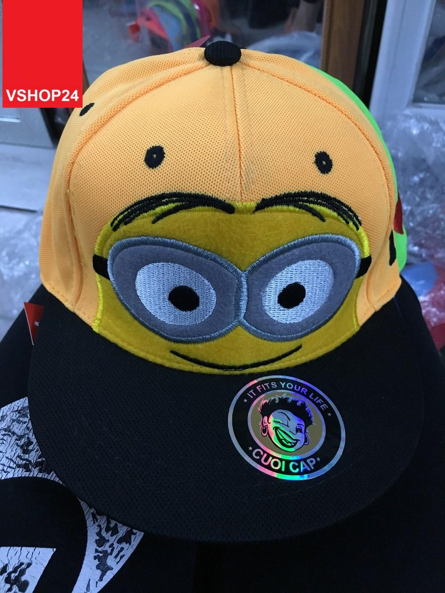 *Mũ snapback MINIONS màu đỏ 131