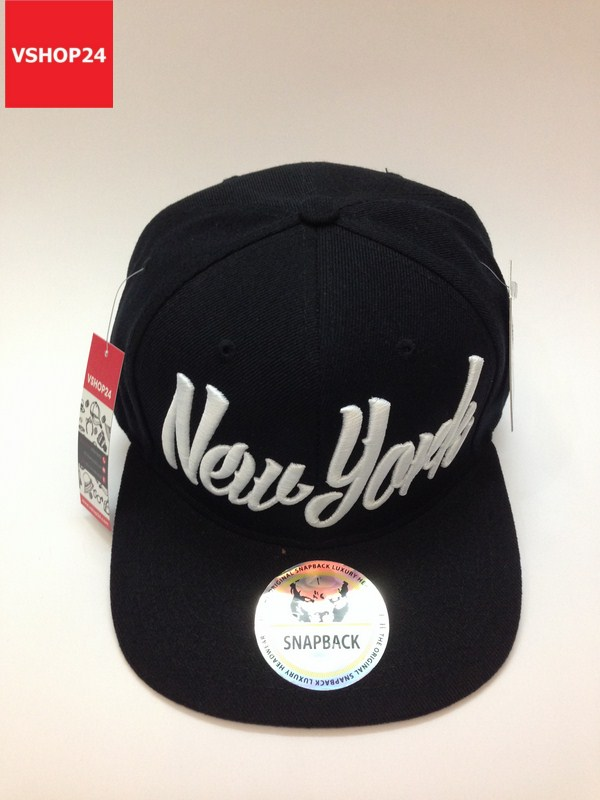 *Mũ Hiphop snapback New York đen 020