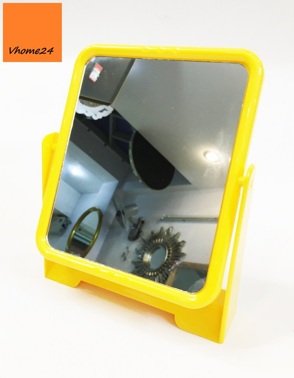 *Gương trang điểm nhựa để bàn GTD159