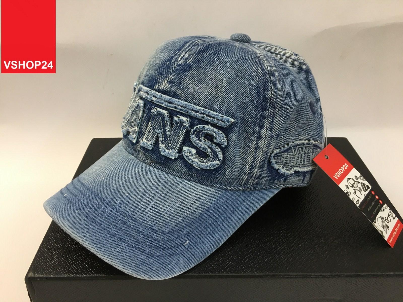 *Mũ jeans VNXK cao cấp VANS 134