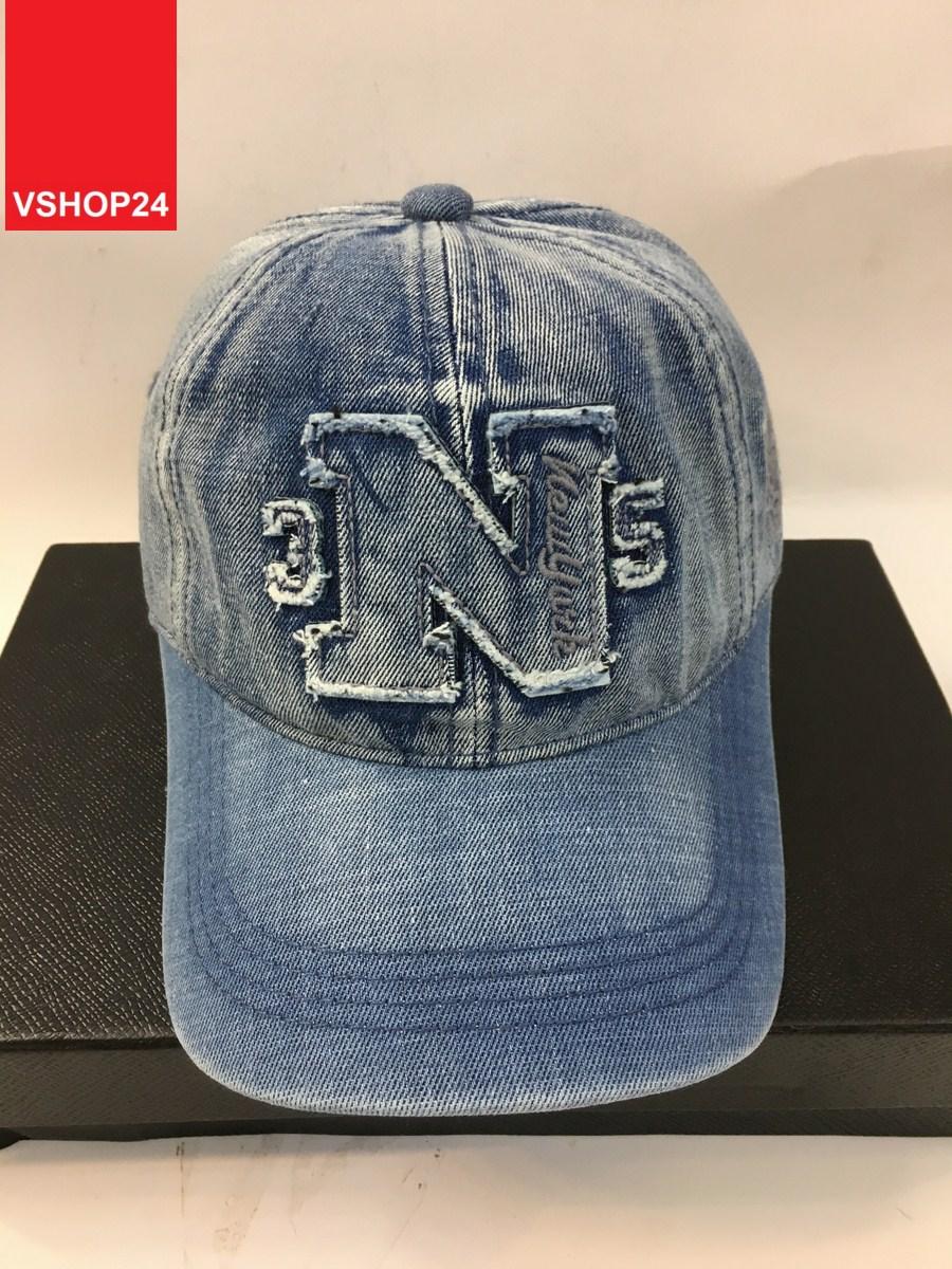 *Mũ jeans VNXK N bạc 094