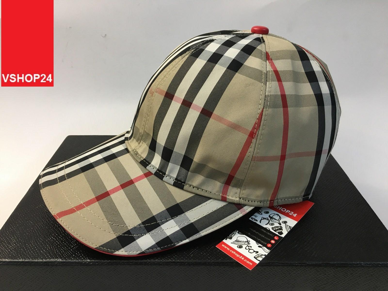 *Mũ hàng hiệu Bubbery caro 167