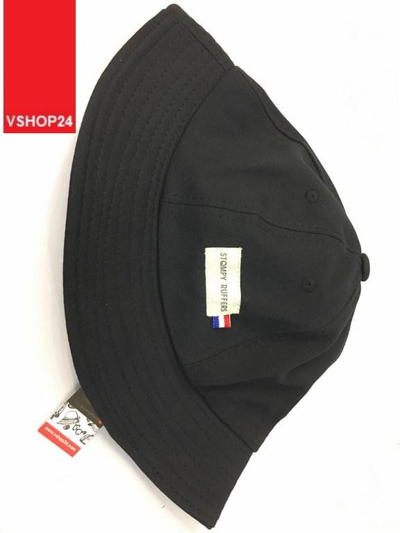 *Mũ bucket Stompy đen 045