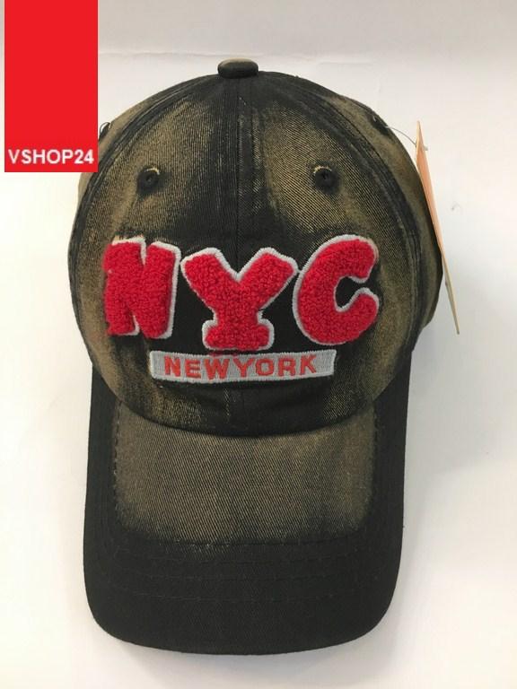 *Mũ lưỡi trai jeans NYC 137