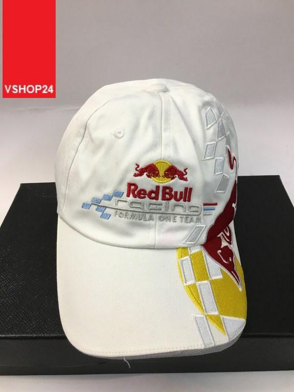 *Mũ lưỡi trai Red Bull trắng 124