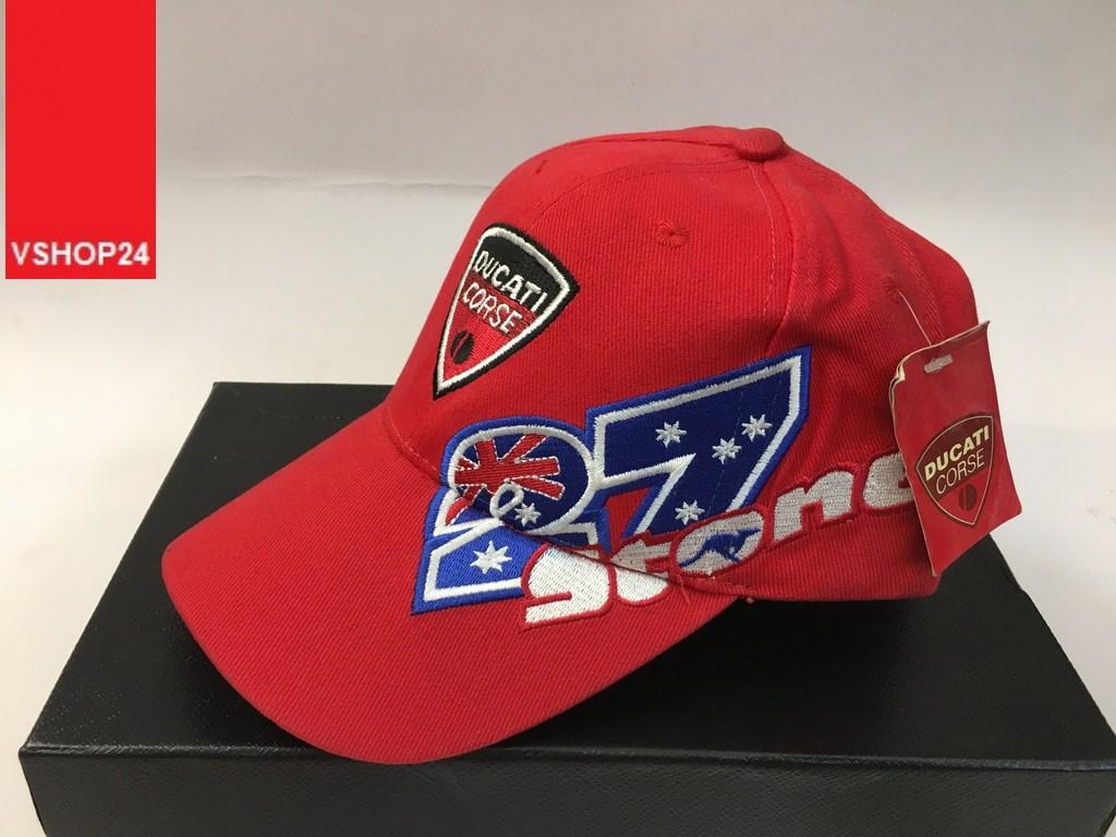 *Mũ lưỡi trai Ducati đỏ 127