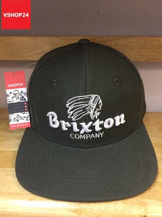 *Mũ snapback VNXK Brixton rêu 369