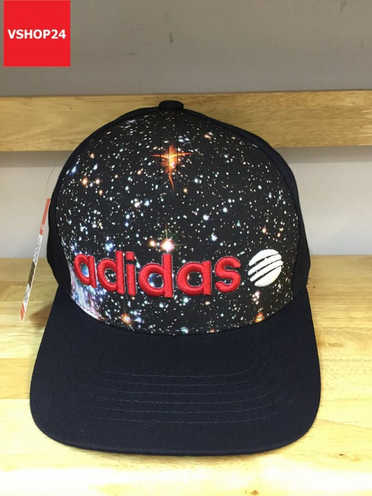 *Mũ thể thao Addidas họa tiết galaxy 190