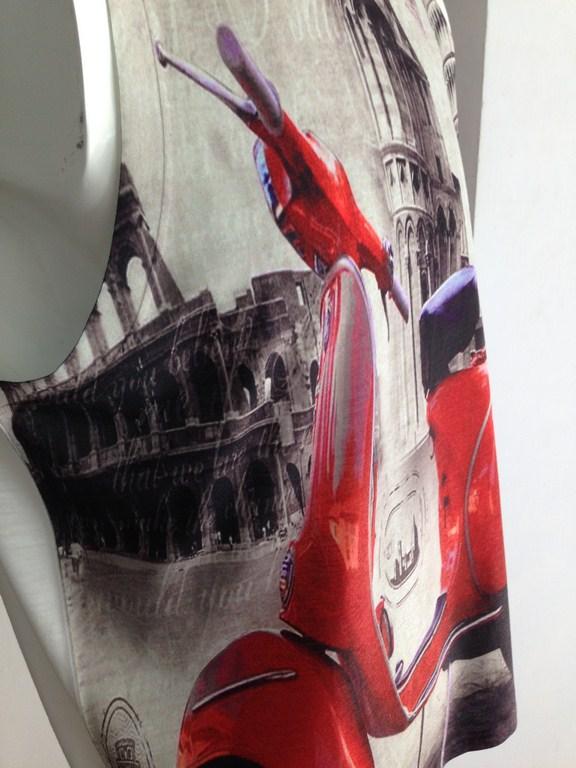 Áo phông ba lỗ nam BA CONZ họa tiết vespa cổ 037